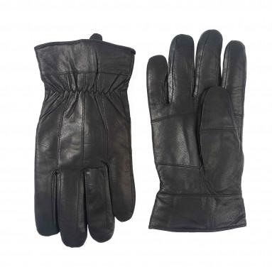 Votre offre du mois : Gants cuir noir