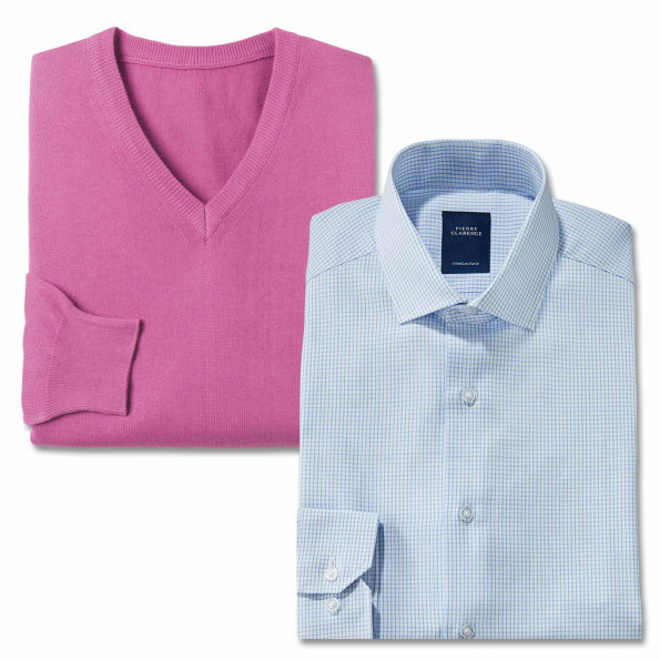 Duo chemise et pull