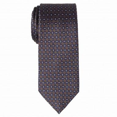 Cravate slim jacquard - Soie