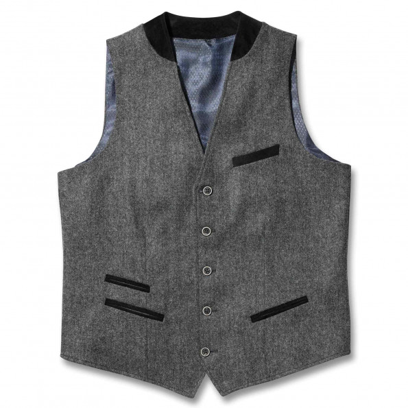 Gilet tweed