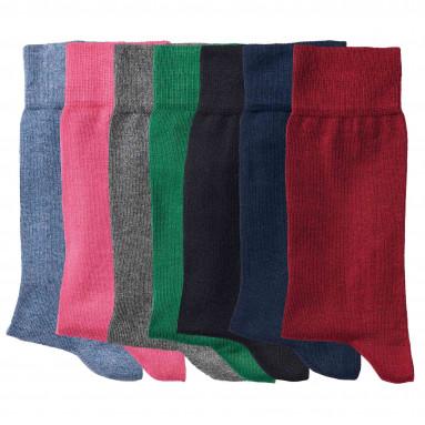 Votre offre du mois : Chaussettes coton - les 7 paires