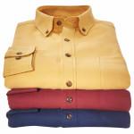 3 chemises flanelle à 29€