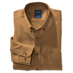 Chemise confort flanelle col boutonné