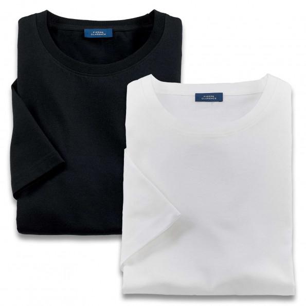 Tee-shirts coton pima (lot de 2)