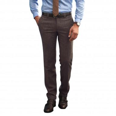 Pantalon Flanelle Tweed