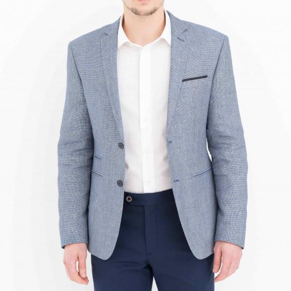 Blazer lin/coton