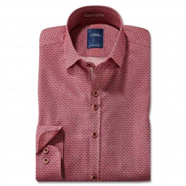 Chemise droite coton imprimé