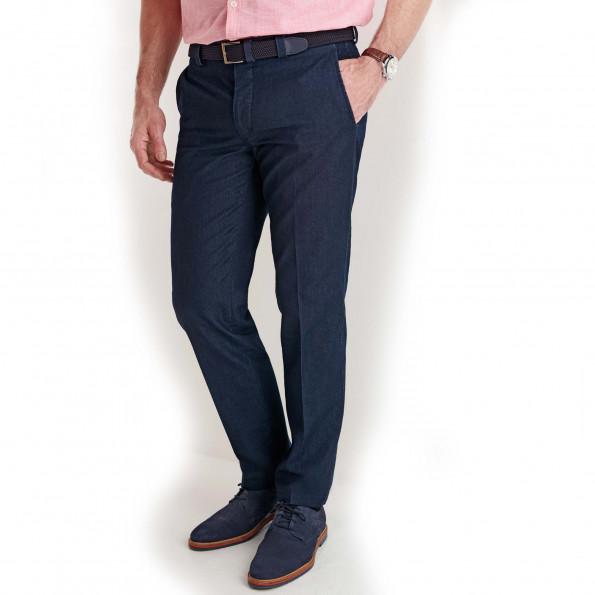 Pantalon denim ville demi-mesure Entrejambe 78 cm