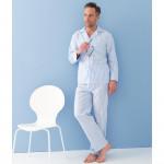 Pyjama en satin de coton Rayé