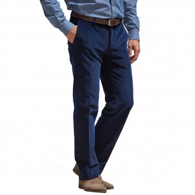 Pantalon velours extensible