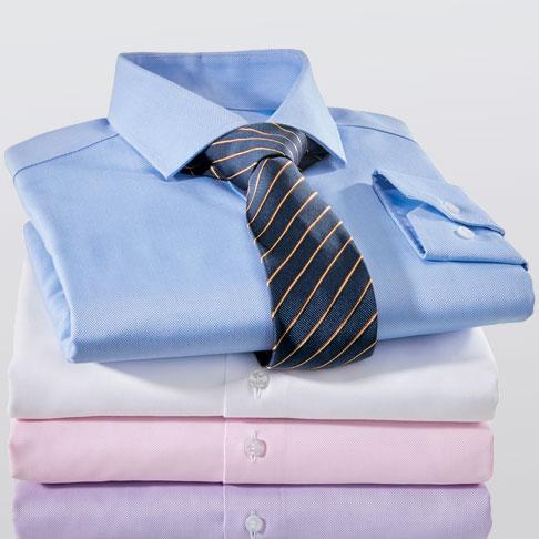 Chemises sans repassage
